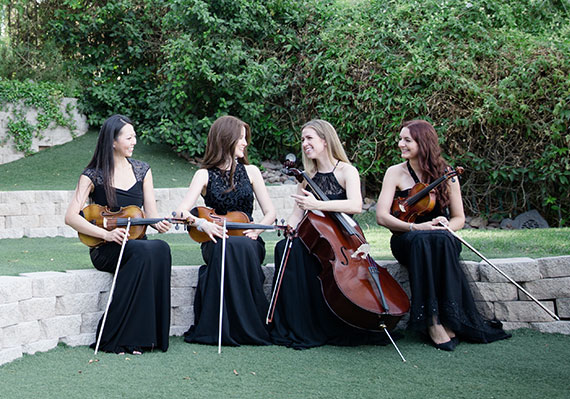 Las Vegas Wedding String Quartet Photo